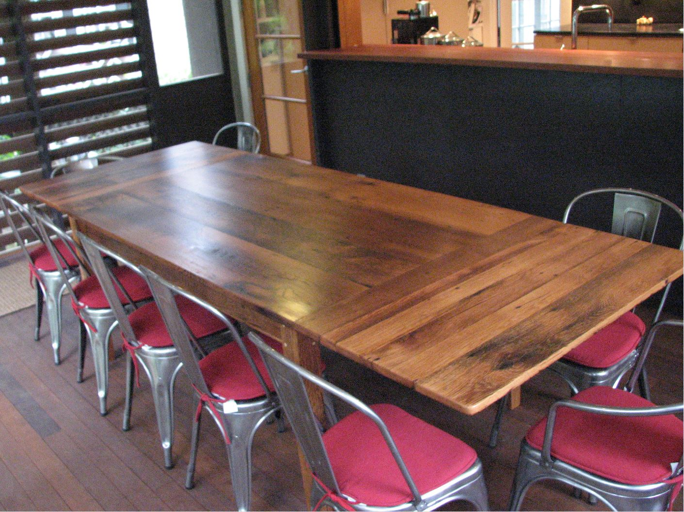 Oak Table with End Extesnsions 3