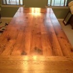 Oak Table with end Extensions 1
