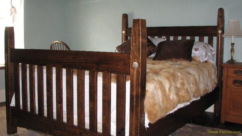 Reclaimed Quarter zone Oak Bed