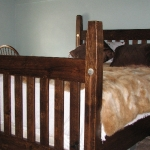 Reclaimed Quarter zone Oak Bed
