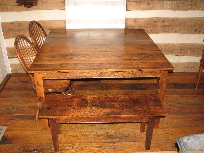 Small Oak Bench