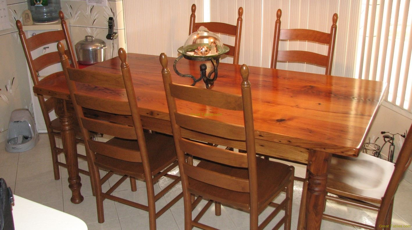 23. Wormy Chestnut Table13