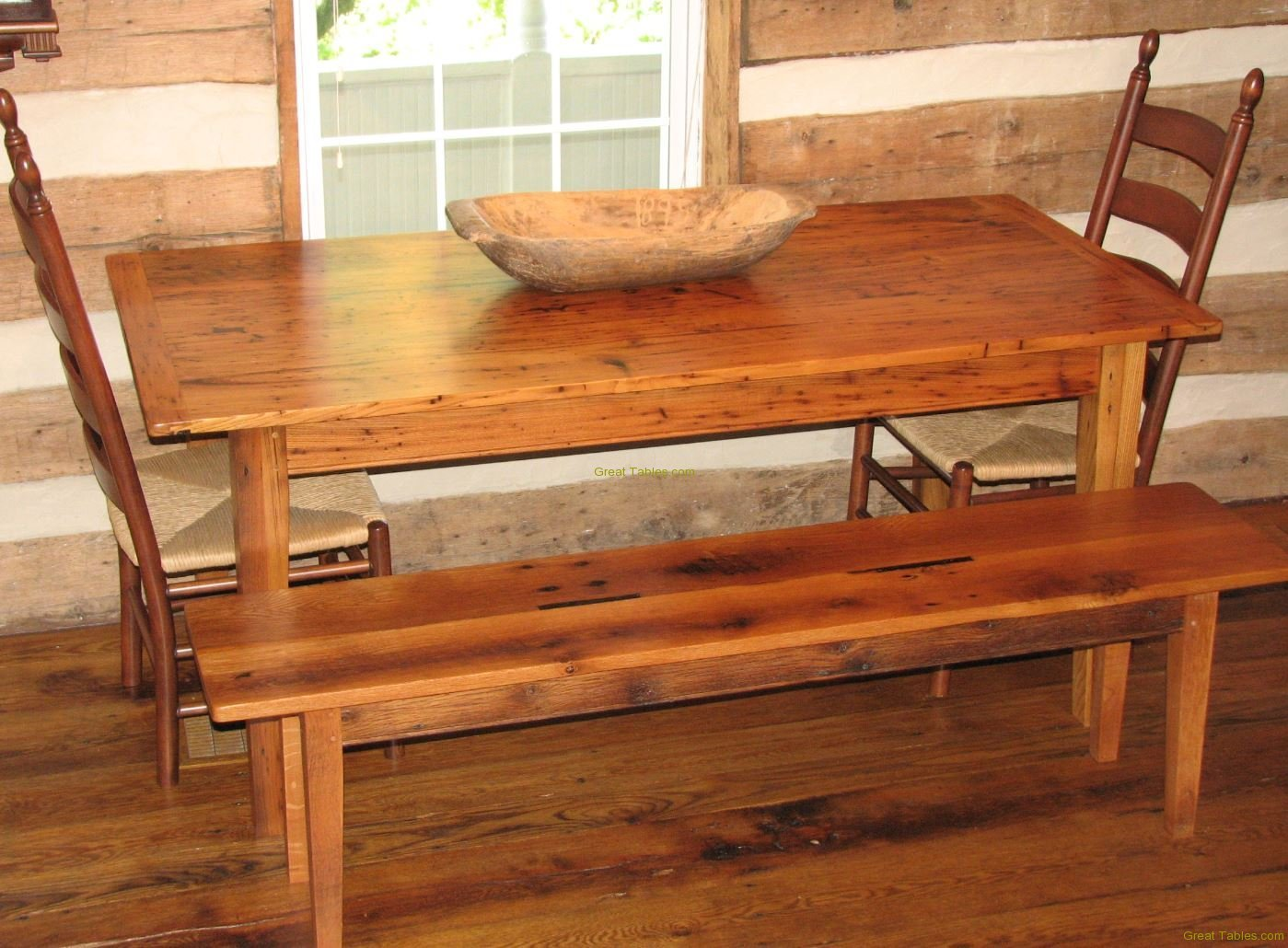 27. Wormy Chestnut Table18