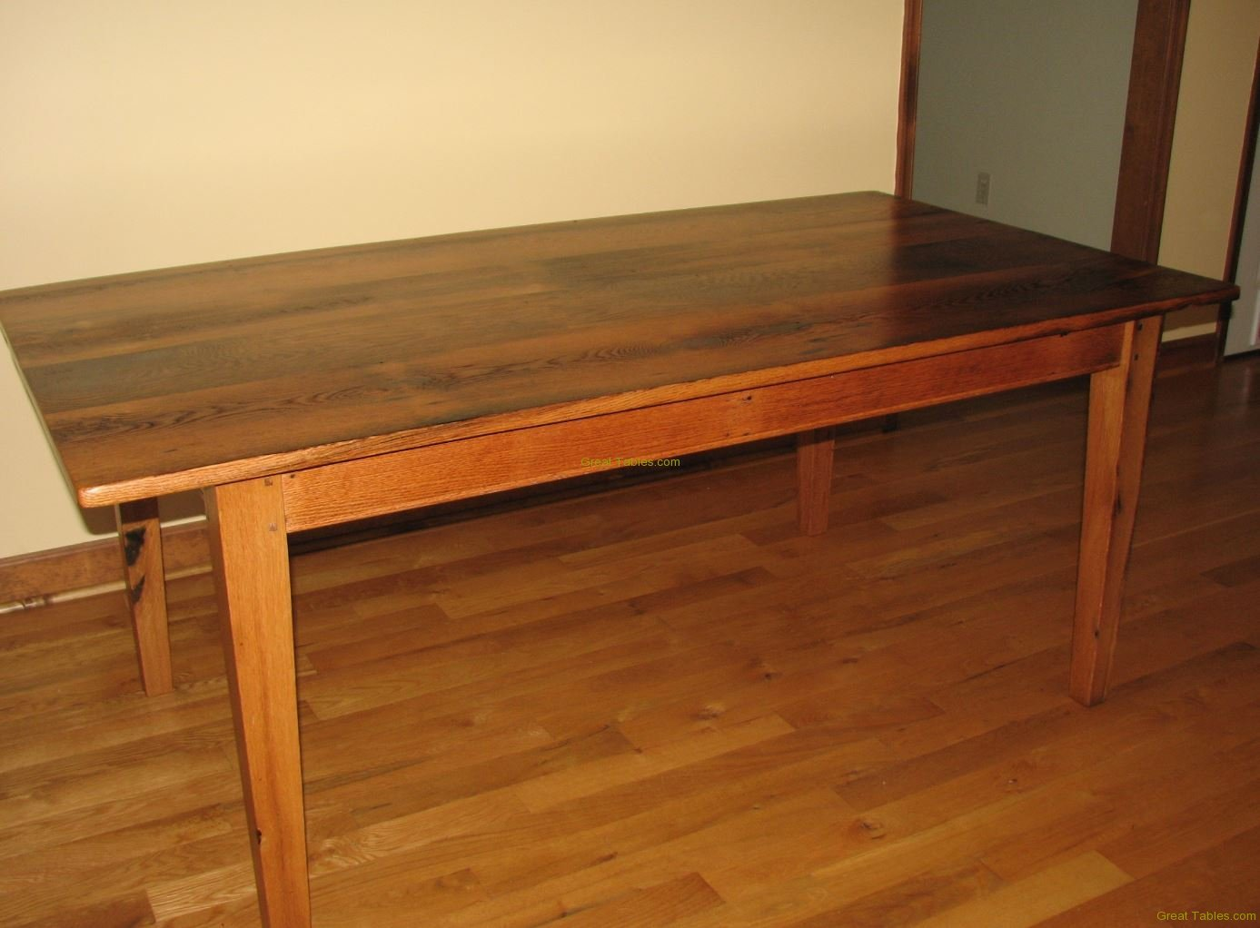 28. Wormy Chestnut Table19