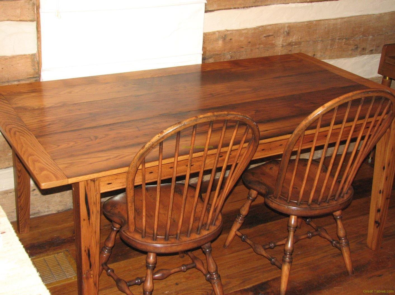 Reclaimed pine farm table wood