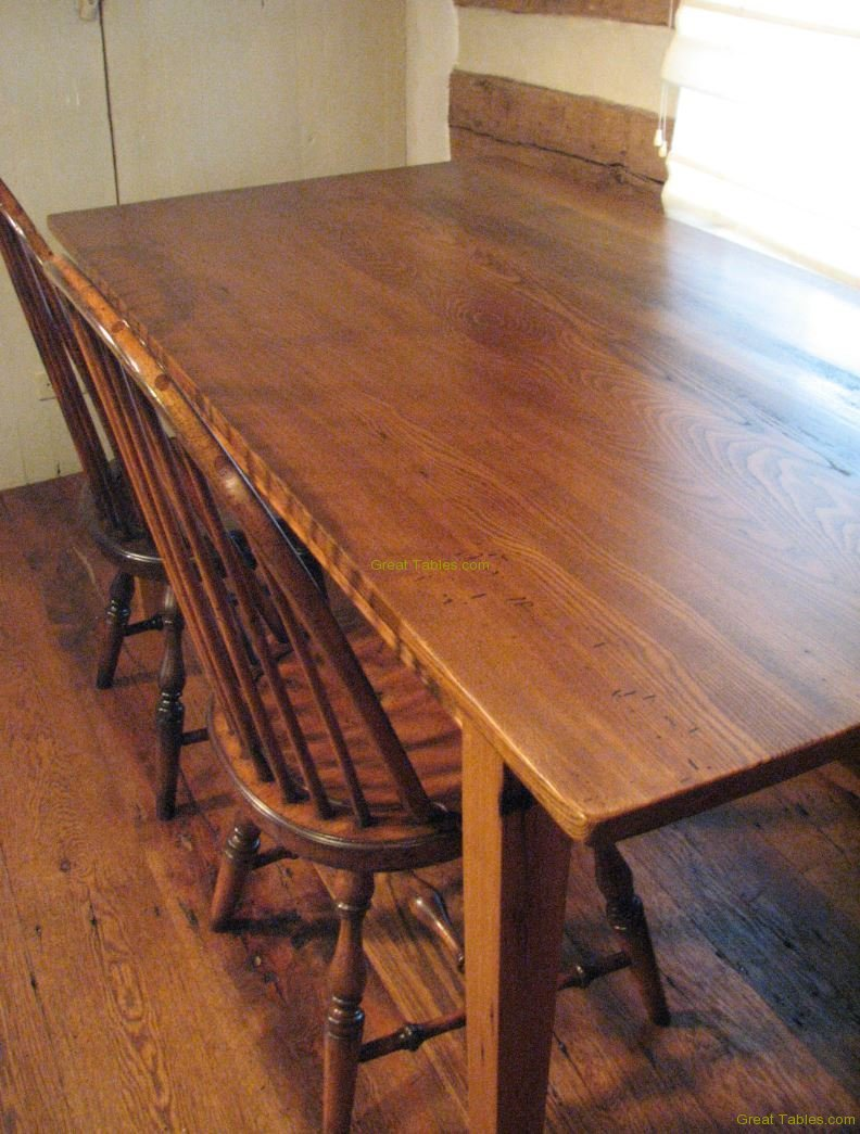 20. Wormy Chestnut Table8