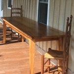 3. Large Chestnut Table