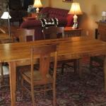 5. Chestnut Table