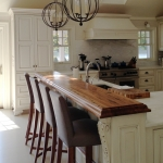 2. Wormy Chestnut Counter Top