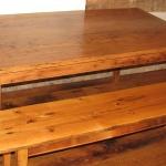 7. Virgin Wormy Chestnut Table