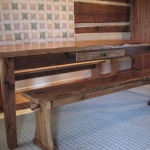19. Wormy Chestnut Table7