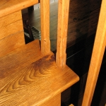 2. Reclaimed Oak Banisters and Steps