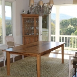 Oak Table with Extensions 1