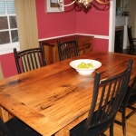 Oak Table with ext.