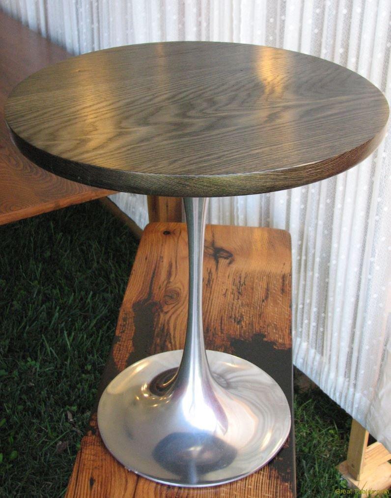 Black Oak round Table