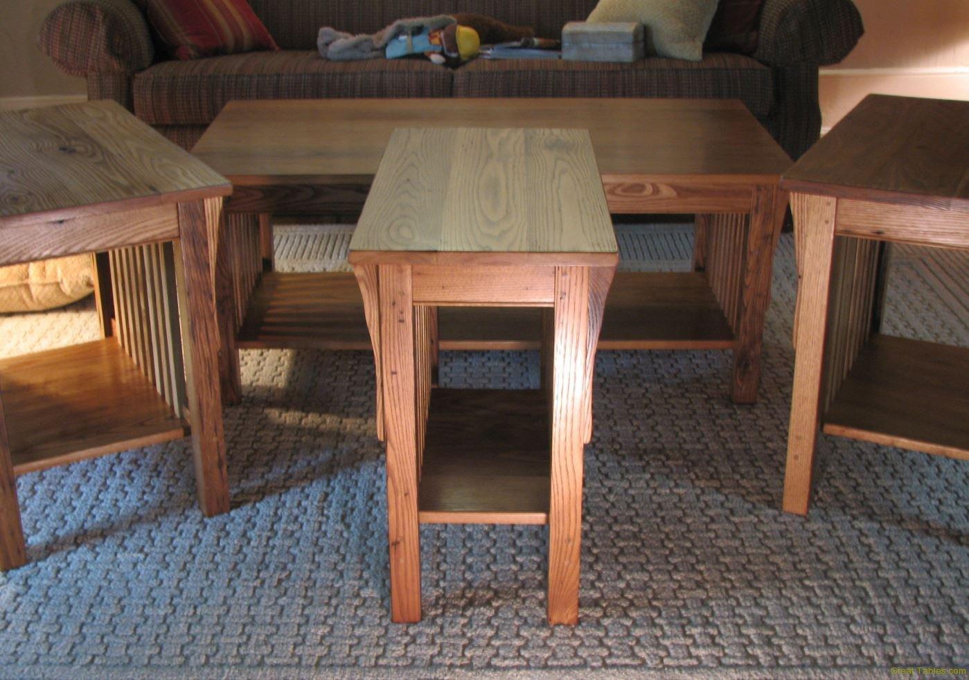 Chestnut End Tables