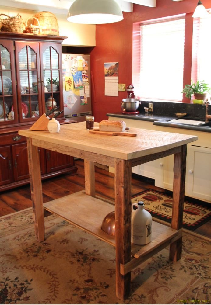 reclaimed kitchen island kitchen islands and buffets reclaimed wood 14677