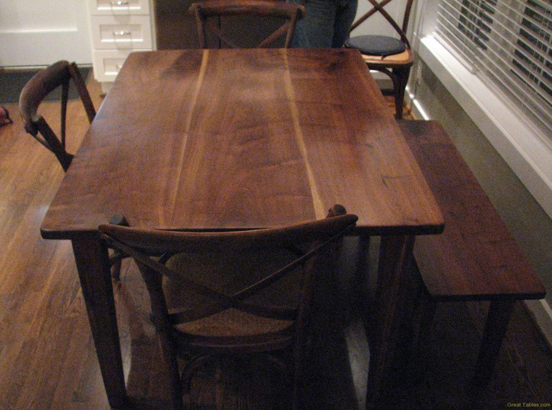 Farm Table Walnut Table