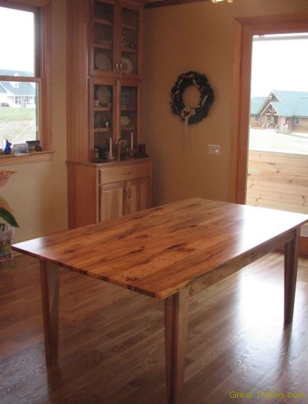 Hickory Farm Table