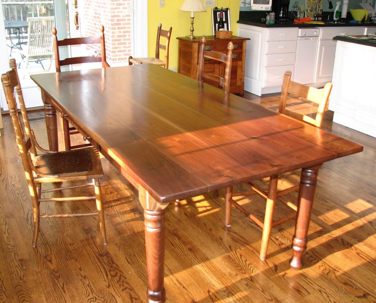 Walnut dinning table1
