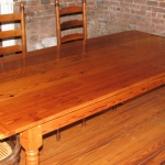 Farm Legs Pine Tables