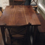 Farm Table Walnut Table