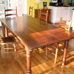 Walnut dinning table1