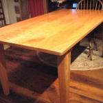 1. Reclaimed Cherry Table