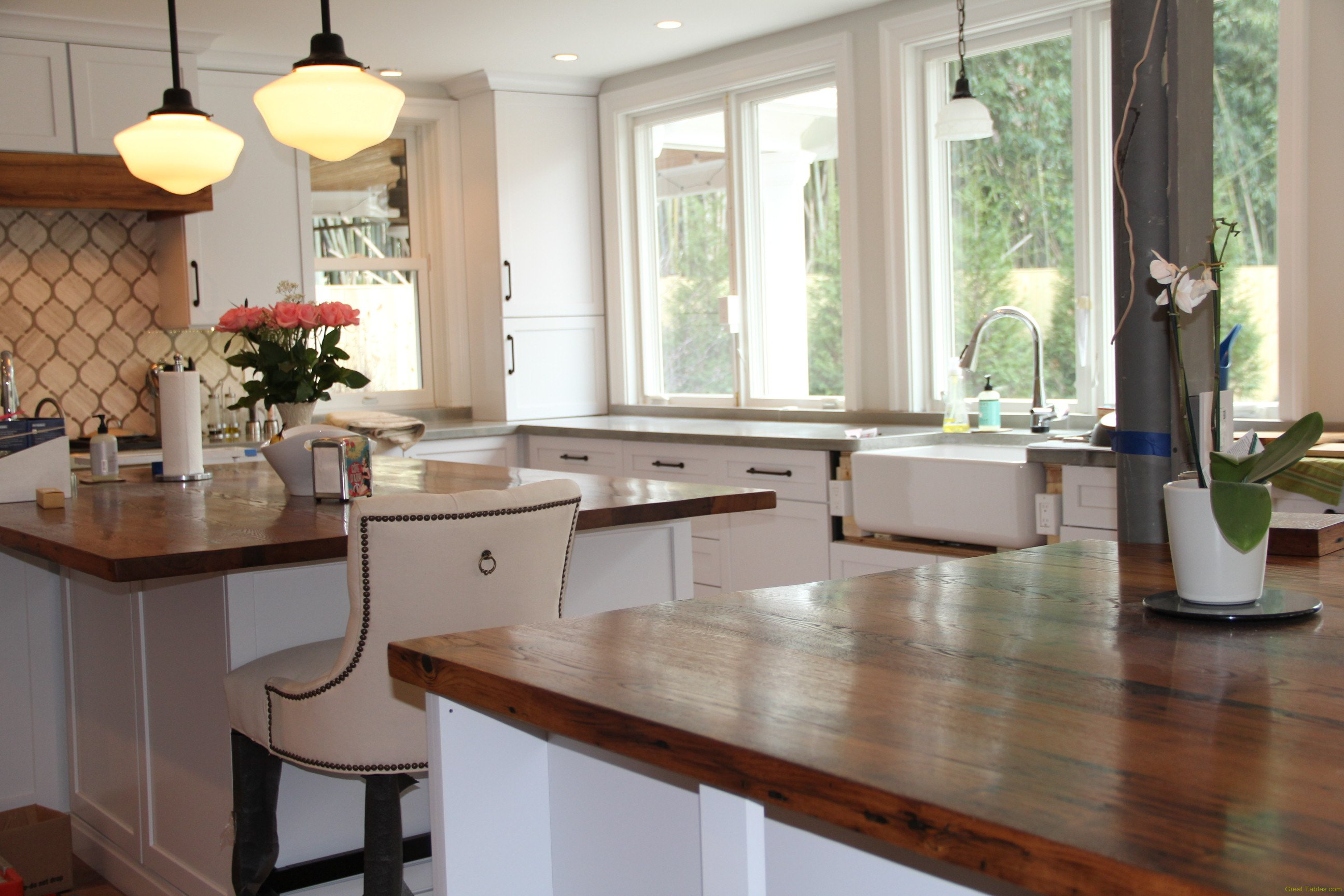 Reclaimed Wood Tops and Features - Reclaimed Wood Furniture ...