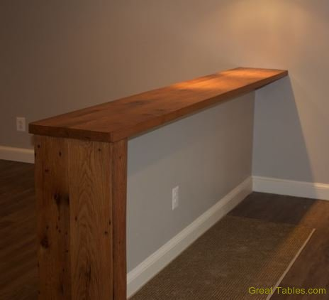 Oak Bar Top