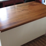Oak Top Kitchen Island1