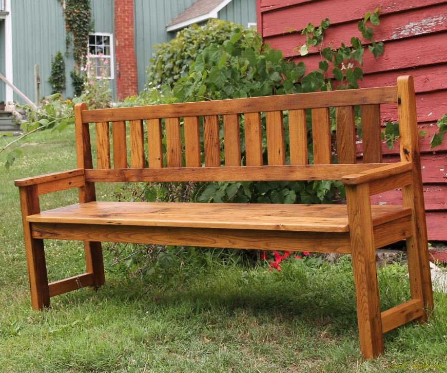 Parsons Chestnut Bench