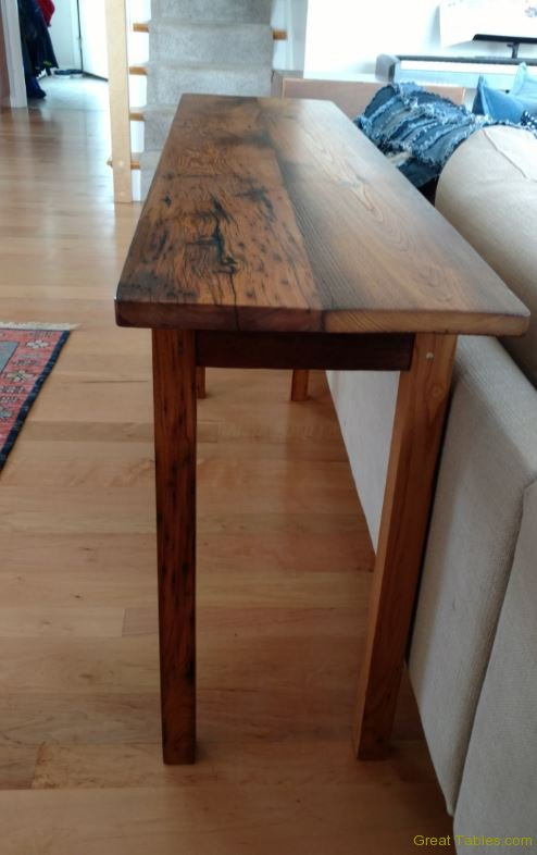 Chestnut Sofa Table