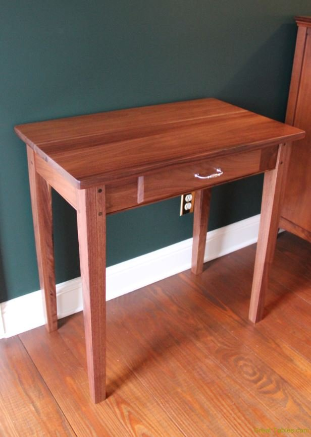 Small Walnut Side Table