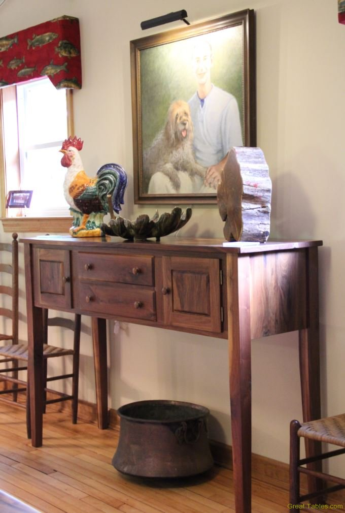 Wormy chestnut Side Table