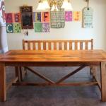 Spanish Trestle Table1