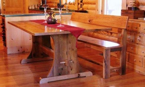 trestle table 4