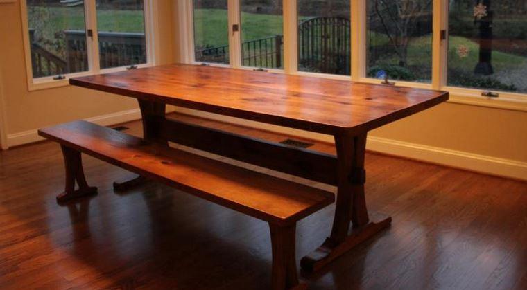 trestle table 5