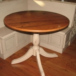 Reclaimed Oak Round Table