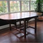 Reclaimed Walnut Oval(Fold) Table