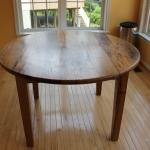 wormy chestnut round table1