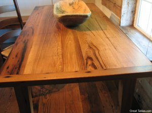 Wormy Chestnut Table24