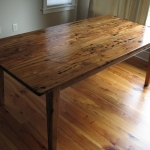 Wormy Chestnut Table1