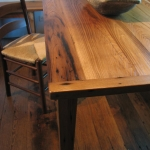 Wormy Chestnut Table15