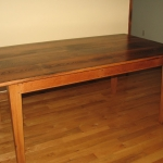 Wormy Chestnut Table19