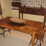 Wormy Chestnut Table3