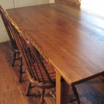 Wormy Chestnut Table8