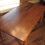 Wormy Chestnut Table9