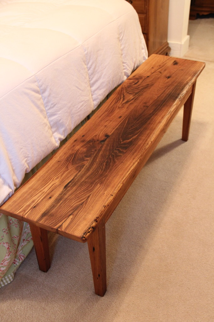 Wormy Chestnut Bench