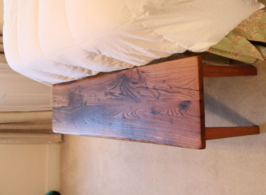 Wormy Chestnut Bench Reclaimed Wood Furniturereclaimed